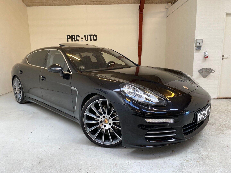 Porsche Panamera 4S 3,0 PDK lang 5d - 4.800 kr.