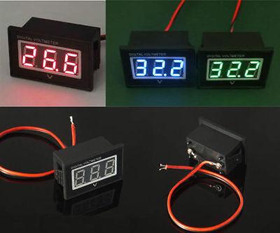 Waterproof Monitor Battery Meter 2.5-30V DC 12V 24v 5v 9v CAR Digital Voltmeter