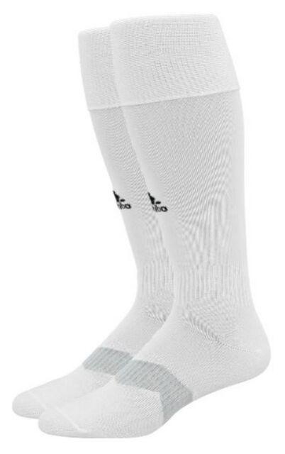 Buy adidas Metro IV Soccer Socks White black clear Grey Medium Small ... b88449df92