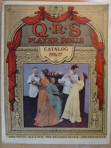 PLAYER-PIANOS-ROLLS-THE-Q-R-S-MUSIC-CATALOG-1976-1977-FREE-UK-POSTAGE