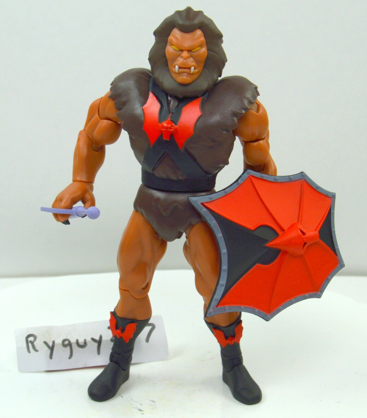 MOTUC, Grizzlor 2.0, Filmation, Masters of the Universe Classics, figure, He-Man