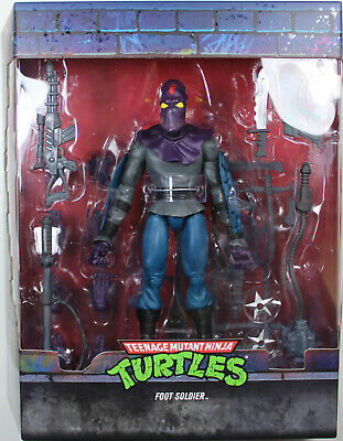 "Super7 Teenage Mutant Ninja Turtles Ultimates Foot Soldier 7/"" Action Figure"
