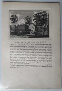 1772-The-Chiding-Stone-Kent-England-Engraving-F-Grose