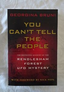 You-Can-039-t-Tell-The-People-by-Georgina-Bruni-Rendlesham-Forest-UFO-Mystery-PBK