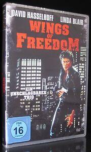 DVD WINGS OF FREEDOM - EIN UNSCHLAGBARES TRIO - DAVID HASSELHOFF + LINDA BLAIR *
