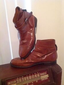 Doucal-039-s-Mens-Ankle-Boot-Sz-43-10-Brown