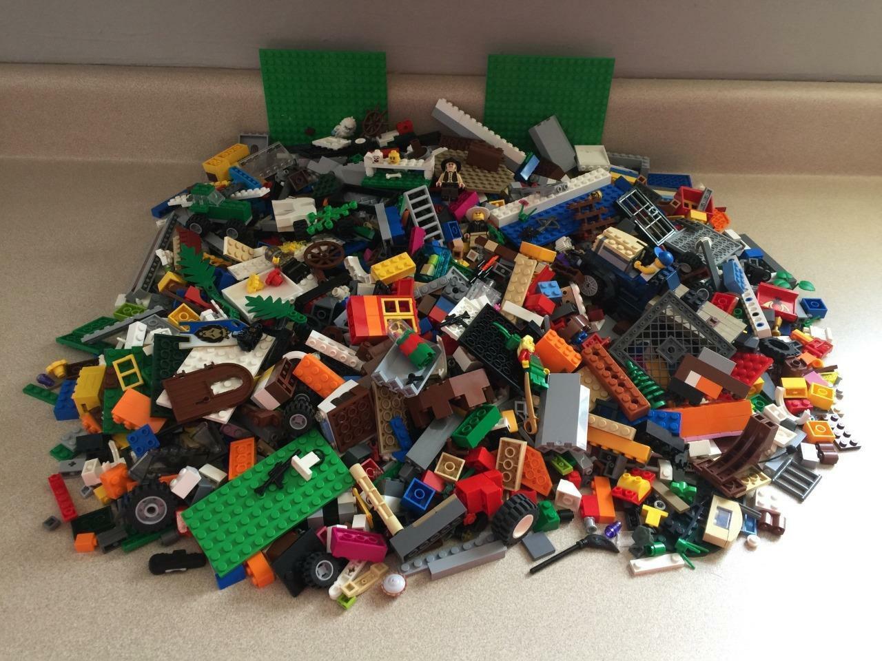 8+ + libras Lego Lote Star Wars, Castillo, Harry Potter, Mezclado Accesorios de ladrillo a granel