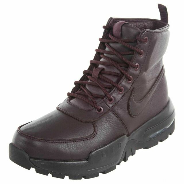 NIKE AIR MAX GOATERRA 2.0 BOOTS MENS 10.5 NEW 916816 601 BURGANDY LEATHER