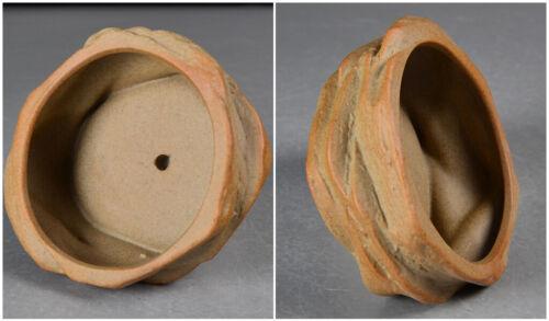 Mini Ceramics Chinese Style Bonsai Flower Pot Round For Succulents Planter