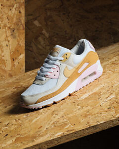 Details about Nike Air Max 90 Twine/Orewood Brown/Sesame Women's Trainers in Various Sizes