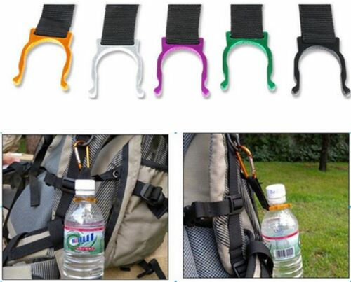 Popular Carabiner Clip Water Bottle Holder Camping Hiking Snap Hook Keychain