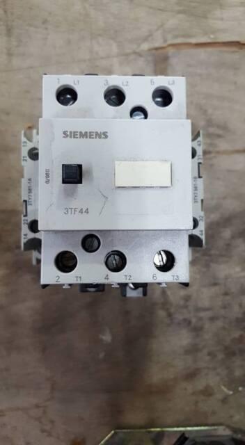 siemens 3tf4422 0a air break motor starter contactor 230v coil 3ty7 rh ebay com