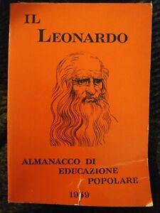 IL LEONARDO - ALMANACCO DI EDUCAZIONE POPOLARE - 1959 - D97