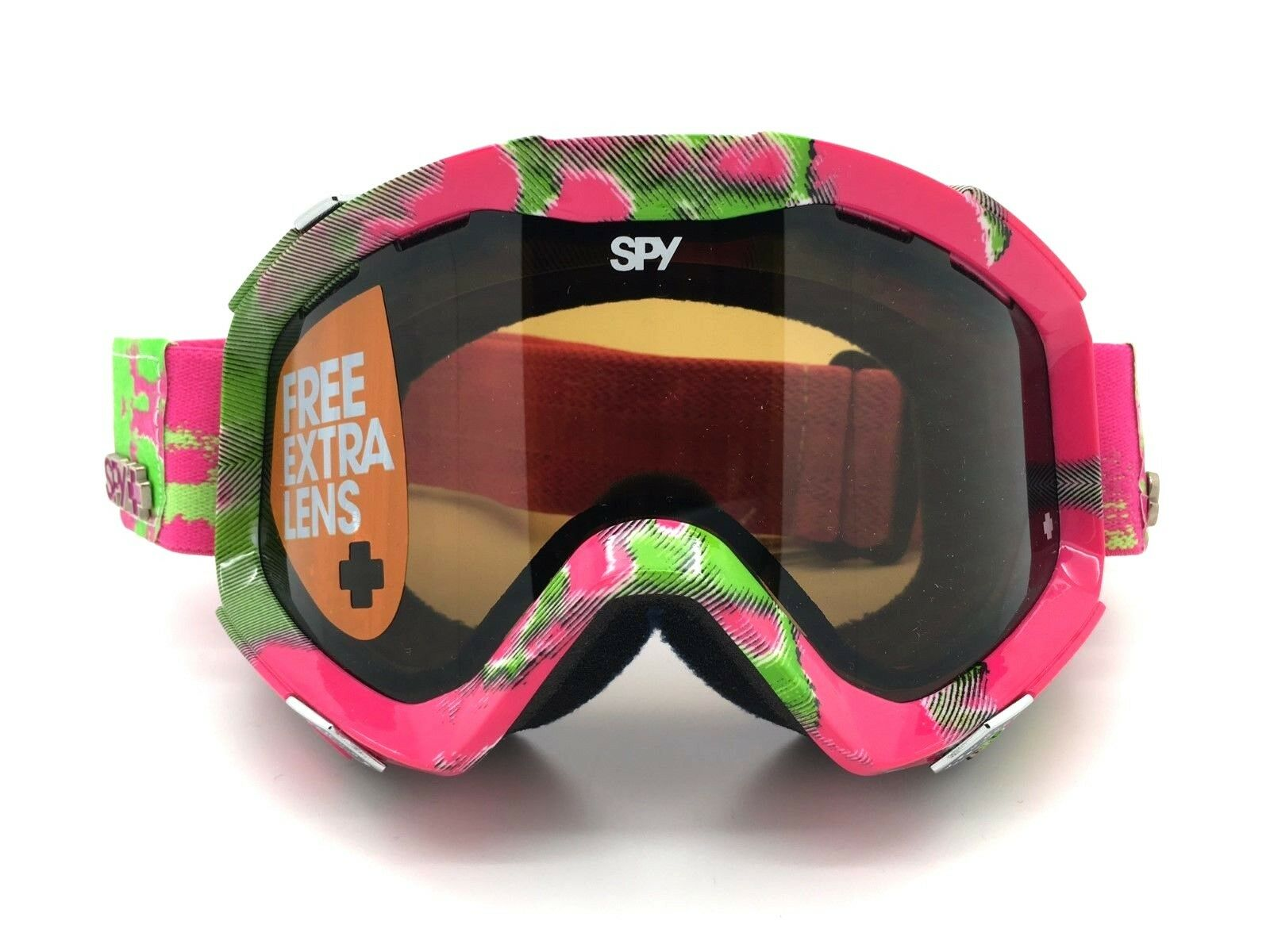 SPY+ Optic  ZED Snow Goggle 311019735070 pink Green Frame Bronze Persimmon Lenses  for your style of play at the cheapest prices