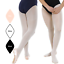 FULL FOOT FOOTED BALLET DANCE TIGHTS WHITE PINK BLACK RUMPF R108 R104 ALL SIZES
