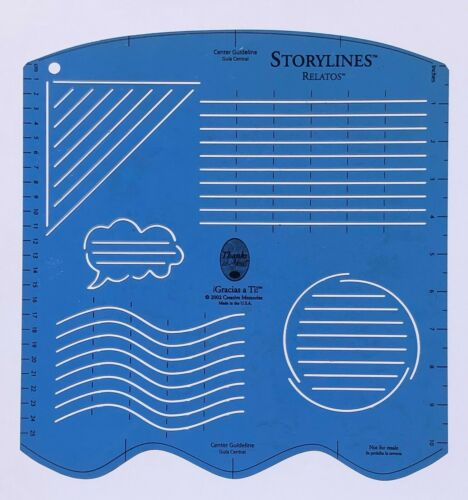 VARIETY TO CHOOSE!!! Creative Memories 12 INCH JOURNALLING TEMPLATES