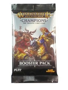 Warhammer Age of Sigmar TCG, Champions 1 Single Loose Booster Pack New