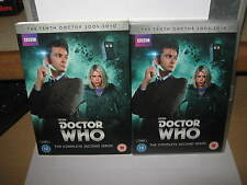 DOCTOR WHO THE TENTH DOCTOR THE COMPLETE SECOND SERIES DVD BUY IT NOW.