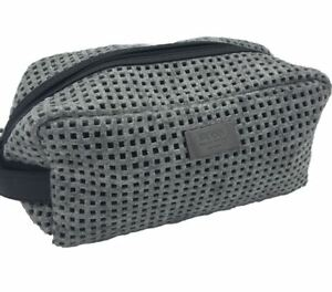 2ba98615e067 Details about Hugo Boss Men's Grey Beauty Toiletry Bag Travel Overnight  Wash Gym Shaving Bag