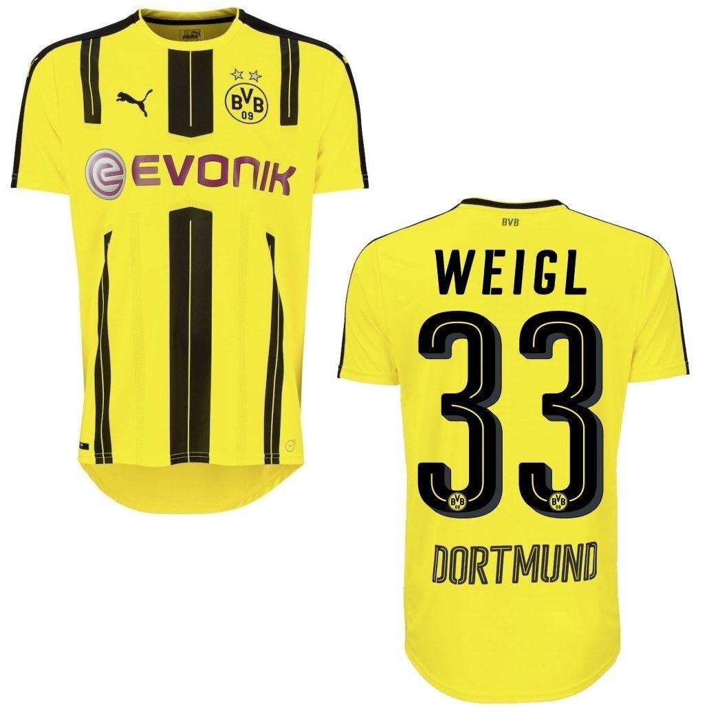 Puma BVB Borussia Dortmund Home Home Home Heimtrikot 2016 2017 gelb mit Spieler Beflockung b91a0d