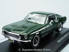 BULLITT 1968 MUSTANG GT STEVE MCQUEEN CAR MODEL FORD 1/43 GREEN ISSUE K8967Q(=)