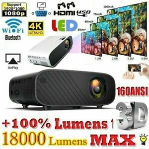 4K-Wifi-Android-Bluetooth-Projector-Full-HD-1080p-3D-Home-Theater-HDMI-USB