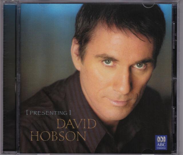 David Hobson - Presenting David Hobson - CD (ABC 476 5690 2006 Australia)