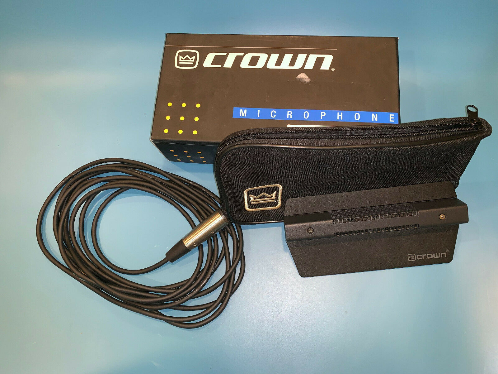 CROWN PCC-160 Coherent Super Cardioid Condenser Boundary MICROPHONE