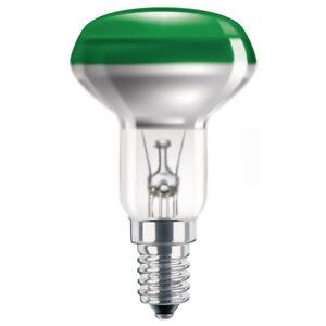 PHILIPS-reflecteur-AMPOULE-R50-40W-E14-vert-AMPOULE-40-watt-AMPOULES-Fete