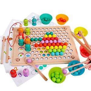 Jeu Peche Jouet Magnetique Educatif Enfants 3 5 Ans Montessori Motricite Memoire Ebay