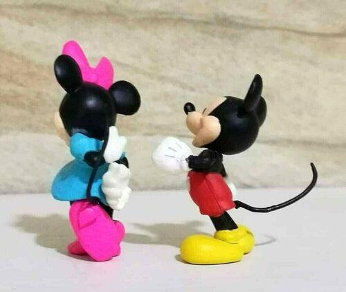 2Pcs Disney TOMY Japan Choco Egg Cute Simba Nala Lion King Mini Figure Toy Doll