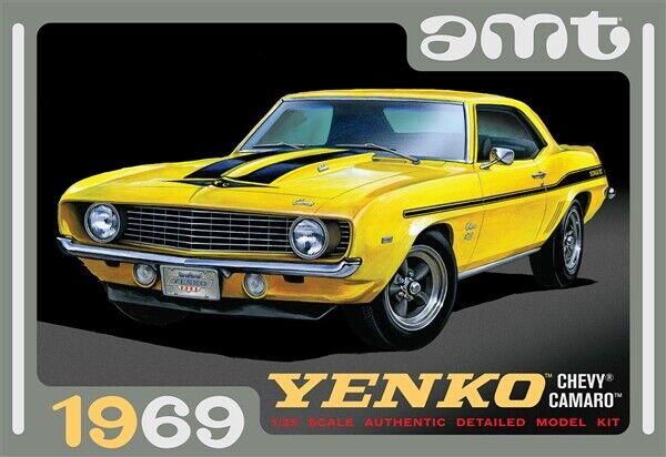 Amt 1093 1969 Chevrolet Camaro Yenko Rs Ss Plastic Model Kit 1 25 In Stock