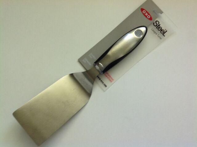 New OXO Good Grips Stainless Steel Heavy Utensils - Lasagne Turner