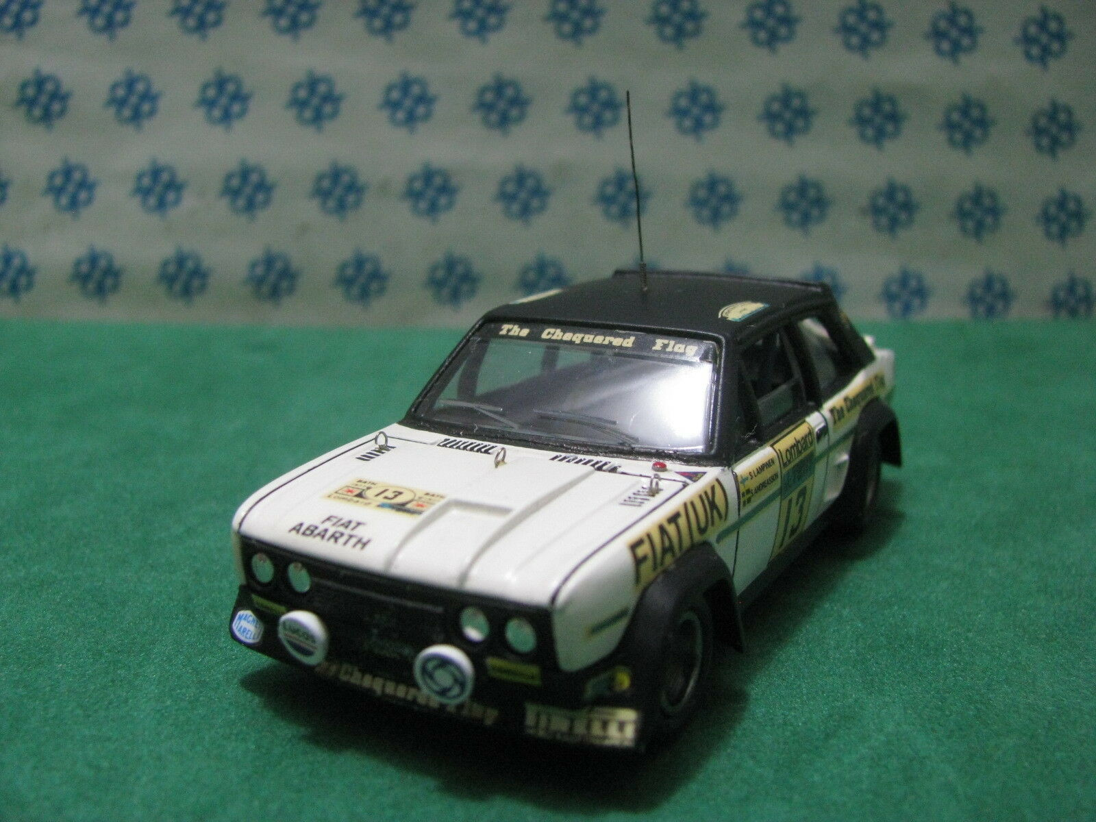 Vintage - FIAT 131 Mirafiori Abarth - 1 43 Elab. base Solido 1977