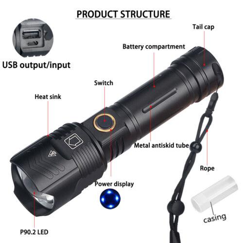 Taktisch LED Taschenlampe Halter Flashlight Lampen Beutel Gürteltasche DE