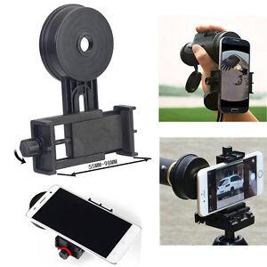 Universel Téléphone Portable Adaptateur Mount Binoculaire Monoculaire Scope Télescope-afficher Le Titre D'origine