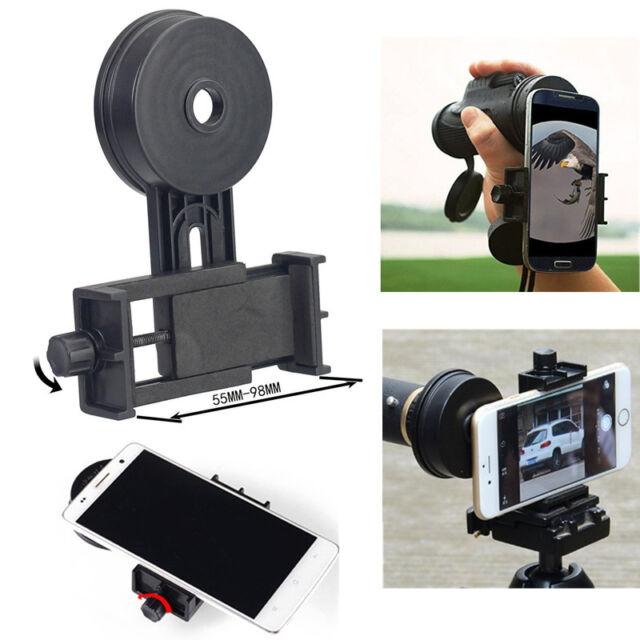Univesal Mobile Phone Camera Adapter Telescope Spotting Scope Microscope Mount