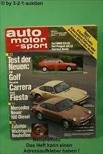 AMS Auto Motor Sport 19/83 * Opel Ascona Keinath C3 BMW Kelleners K 3