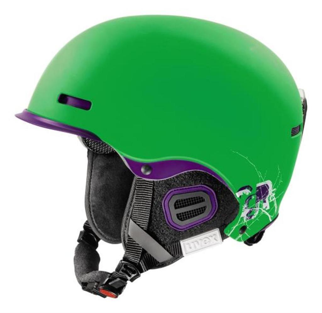 Uvex hlmt 5 pro core green dark purpl Skihelm Snowboardhelm  Helm Wintersporthelm  shop now