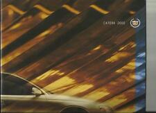 CADILLAC CATERA OVERSIZED SALES BROCHURE 2000 USA  MARKET