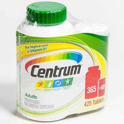 Centrum 425 Tablets Men/Women Adults under 50 Multi Vitamin Mineral Supplement