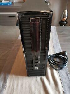 Ordinateur Unité centrale PC Hp Prodesk 400 G2 SFF I5 4590 8 GO 256 GO SSD (1)