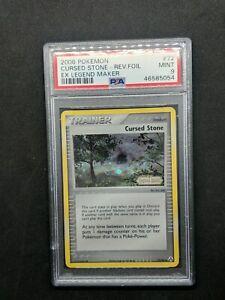 Cursed Stone 72/92 Reverse Foil Pokemon Card PSA 9