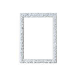 ANTICO-CUSCINO-ornato-SPAZZATO-Cornice-per-foto-Poster-decorazione-muro-bianco