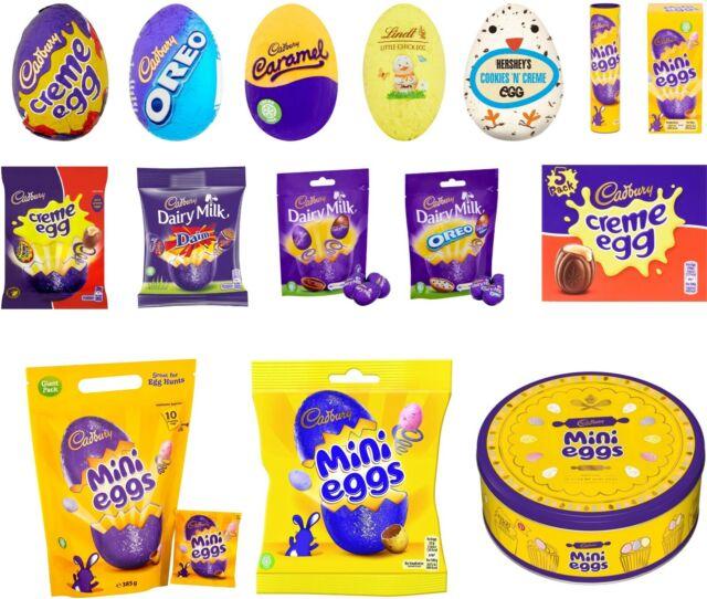 Cadbury Hersheys Lindt Easter Mini Eggs