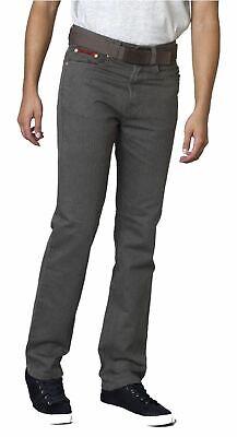 Duke London Da Uomo Regular Beford Cord Jeans (brian) Con Cintura In Marrone-mostra Il Titolo Originale Design Moderno