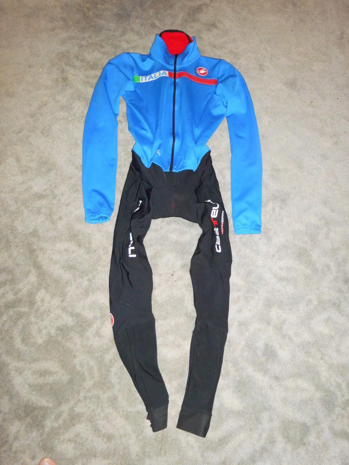 Castelli San Remo thermo Einteiler / Skinsuit Gabba Team Italia