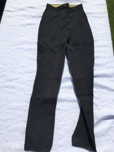 Nouveau Femme Complet Siège Équitation Taille 31 R Neuf En Paquet-Noir