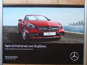 Mercedes Benz Slc Roadster Slk R172 Poster 84 X 59 Cm Plakat 2017