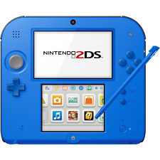 Nintendo 2DS (Electric Blue 2) - REFURBISHED BY NINTENDO - Warranty Included